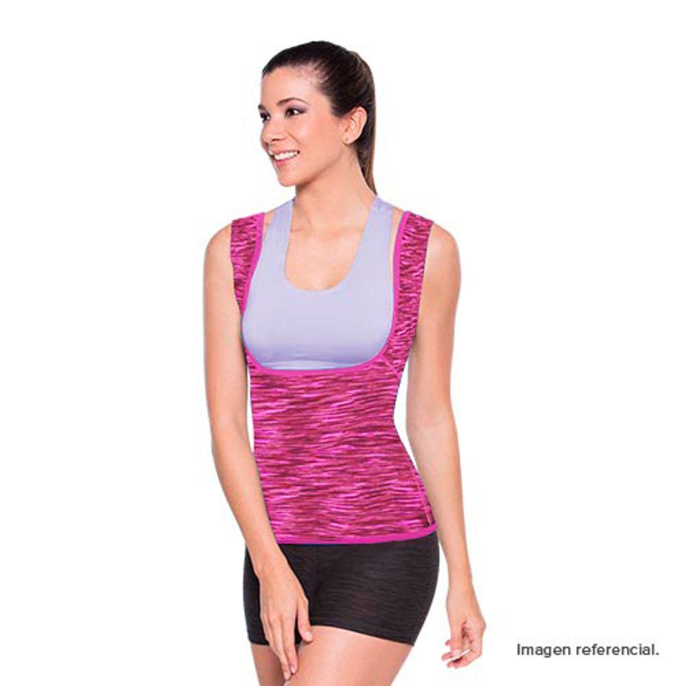 Redushaper-Camiseta-Mujer-Satinada-Rosa